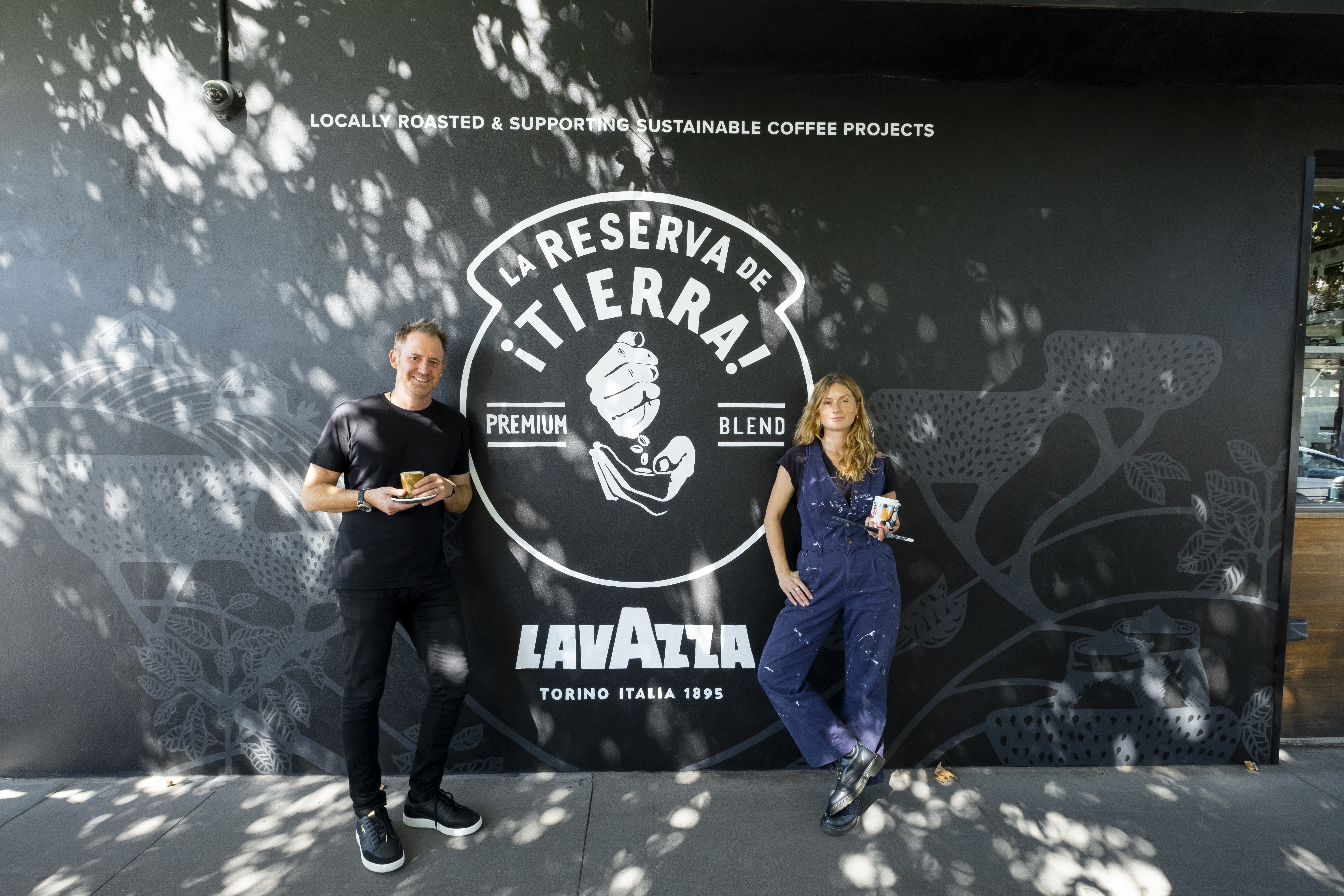 Pantry Lavazza Mural 2021